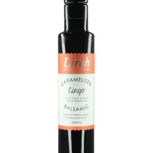 Lirah Caramelised Ginger Balsamic Vinegar – Buy Online