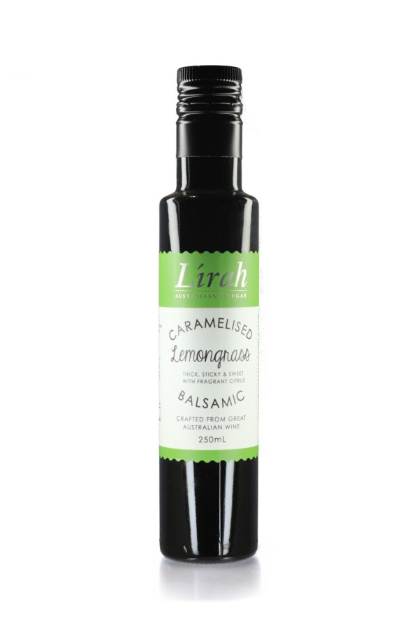 Lirah Caramelised Lemongrass Balsamic Vinegar – Buy Online