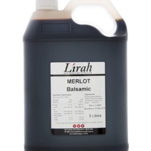 Vinegar for Chefs – Lirah Merlot Balsamic