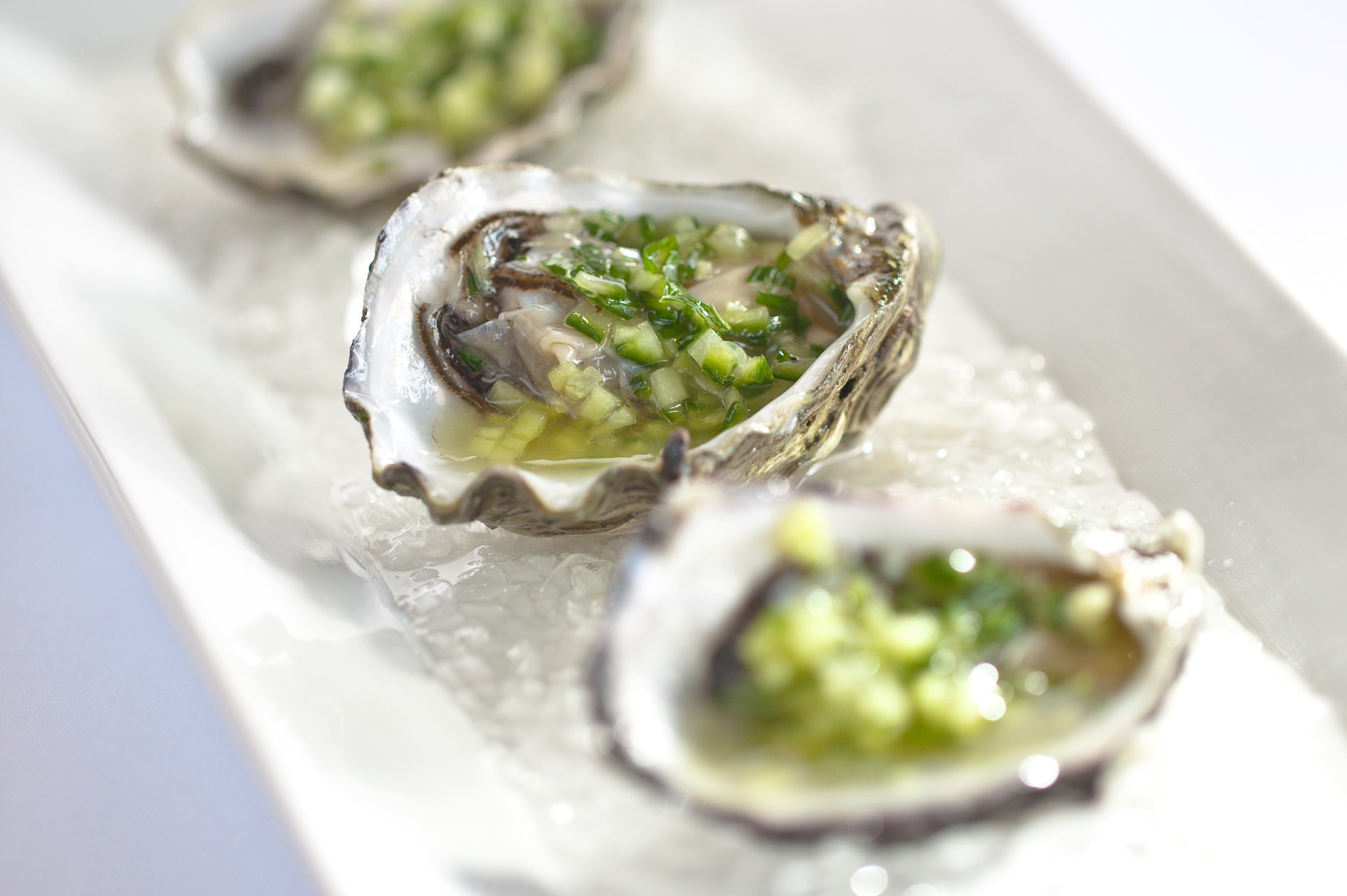 Oysters with Grand Reserve Chardonnay Vinegar – Recipe