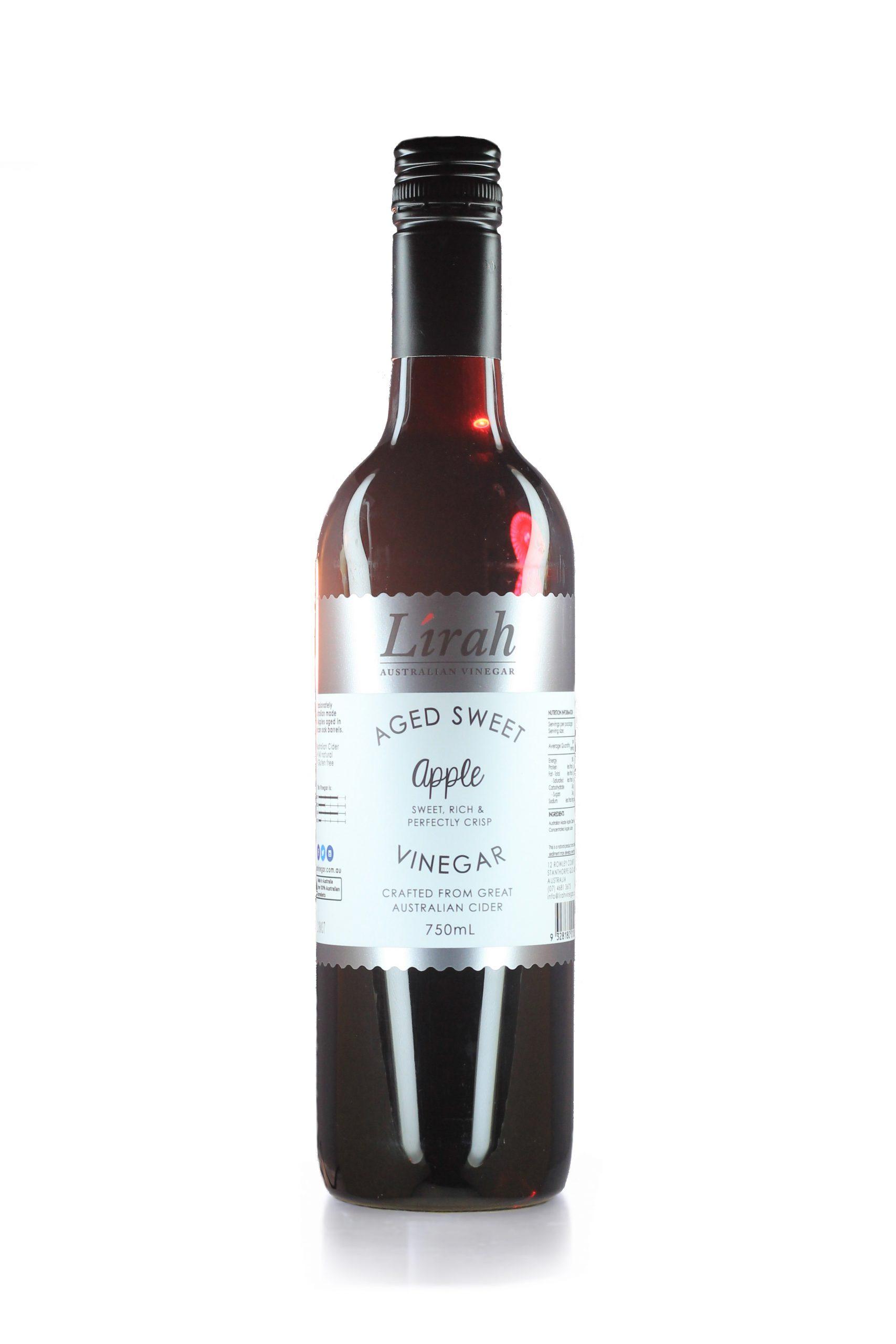 Aged Sweet Apple Vinegar (750mL)