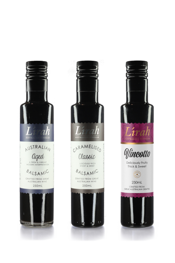 Lirah Entertainers 3 Pack - Aged, Classic & Vincotto FREE DELIVERY