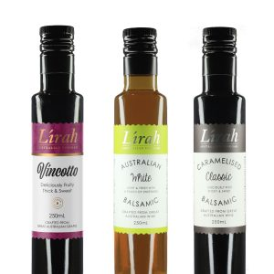 Lirah Essentials 3 Pack - Vincotto, White & Classic FREE DELIVERY